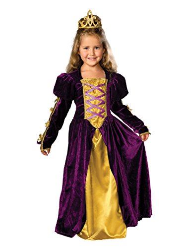 [Rubie's Regal Queen Child's Costume, Medium] (Toddler Renaissance Costumes)