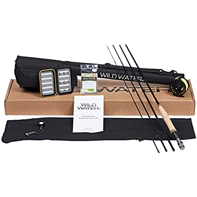 Wild Water 5/6 9' Rod Fly Fishing Complete Starter Package from Wild Water Fly Fishing