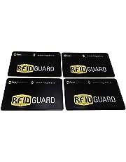 مانع حماية بطاقات RFID بلوك من إي ستاند لبطاقات الائتمان/البنك، جواز السفر والمحافظ