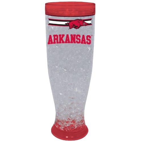 Arkansas Razorbacks Art Glass (NCAA University Of Arkansas Razorbacks Ice Pilsner Glass)