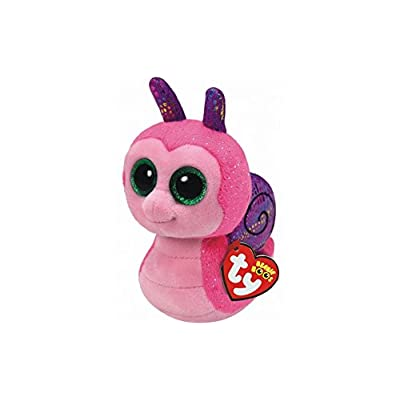 "Holland Plastics Original Brand TY Beanie Boos 6"" Scooter Snail, Perfect Plush!: Toys & Games"