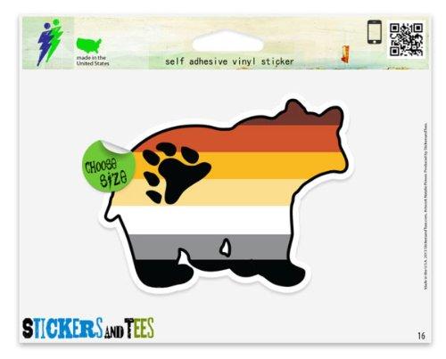 Bear Brotherhood Gay Culture Flag Car Sticker Indoor Outdoor 5