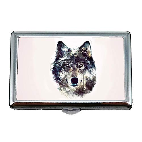 - Cigarette Case (King Size),Funny Black Labrador Dog Cute Dog,Credit Card Holder Wallet