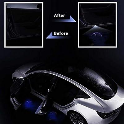 Car Door Lights for Mercedes-benz LED Car Door Logo HD Welcome Light for Mercedes-benz Series Car Ground Lights 2 PCS: Automotive