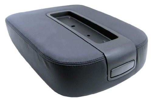 Fits 07-13 Chevy Tahoe, Suburban, Escalade, Vinyl Console Armrest Cover-black (Vinyl Part Only) ()