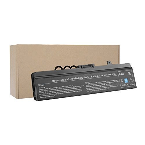 OMCreate Battery for Dell Inspiron 1525 1526 1545 1546 PP29L PP41L Series Vostro 500 - fits P/N X284G / M911 / M911G / GW240 / RN873 / GP952 / RU586 / C601H / 312-0844 - 12 Months Warranty (Laptop Battery Type X284g compare prices)