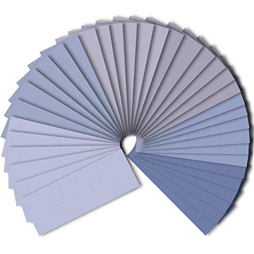 AUSTOR 36 Pieces Sandpaper 1500 2000 2500 3000 5000 7000 High Grit Wet and Dry Sandpaper Assortment 9 x 3.6 Inches Abrasive Paper
