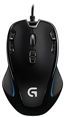 Logitech G300s Optical Ambidextrous Gaming Mouse - 9 Program