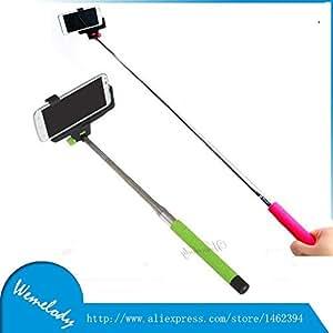 ARBUYSHOP Z07-5 aluminio trípode flexible 2 en 1 inalámbrico Bluetooth Remote Monopod selfie palillo para el iPhone IOS Android móvil Móvil