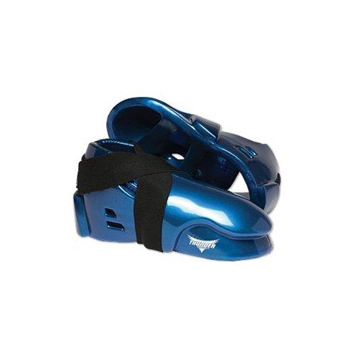 PROFORCE Thunder Double Layered Kicks Karate Sparring Shoes – Blue – Medium – 8/8-1/2