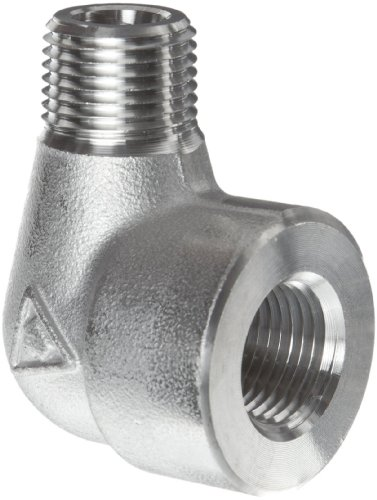 316/316L Forged Stainless Steel Pipe Fitting, 90 Degree Elbow, Class 3000, 1/2