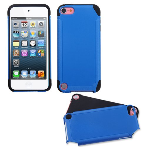 - Asmyna Dark Blue/Black Frosted Fusion Protector Cover for iPod touch 5