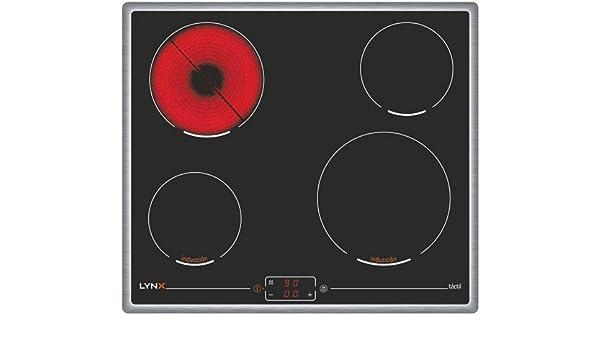 Lynx 4ET800XT hobs Integrado Con: Amazon.es: Electrónica