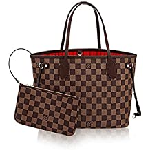 LV Damier Ebene Canvas Neverfull PM N41359
