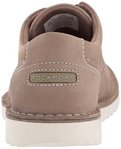 Rockport Heren Cabot Plain Teen Schoen Taupe Nubuck