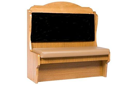 "Oak Street Durango Booth 60""L x 48""H double vinyl seat - DRN-60DBLVSUB"