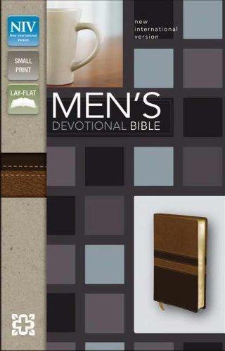 (NIV*Mens Devotional/Compact-Walnut/Expresso)