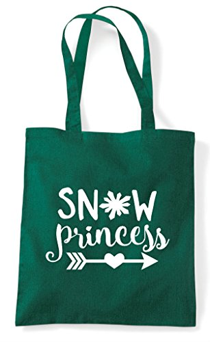 Dark Tote Shopper Princess Green Bag Statement Snow qZRB0