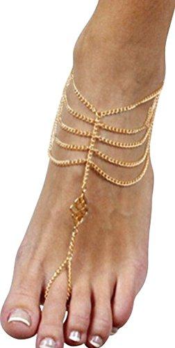 Tassels Bracelet Barefoot Sandals Jewelry product image