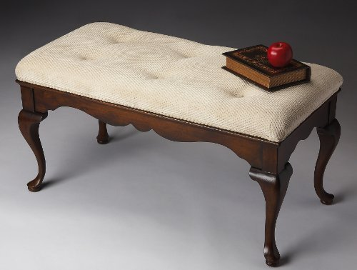 Accent Furniture - Brandermill Upholstered Bench - Vanity Bench - Hall Bench