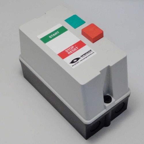 Springer Controls, JC2516P1B-JU, Enclosed AC Motor Starter, Single Phase, 2.0 HP, 115V ()