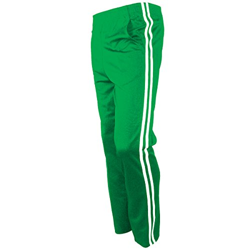 - myglory77mall Men's Running Jogging Track Suit Warm Up Pants Gym Training Wear XL US(3XL Asian Tag) Green