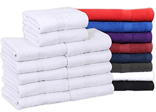 Cotton Salon Towels  - Soft Absorbant Quick Dry Gym-Salon-Sp