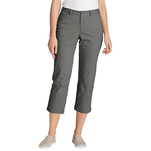 Eddie Bauer Women's Legend Wash Stretch Cropped Pants - Curvy Fit, Carbon Regula by Eddie Bauer (Image #2)