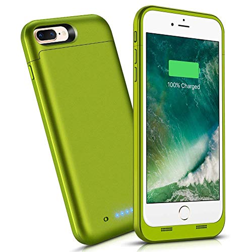 iPhone 8 Plus/7 Plus Battery Case,7000mAh External Battery Portable Power Charger Protective Juice Charging Case Pack for Apple iPhone 7+/8+(5.5