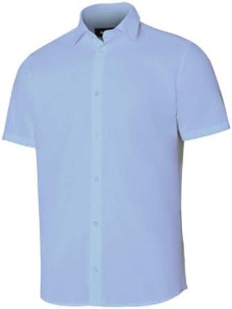 VELILLA - Camisa Manga Corta 405008 Hombre Celeste 3XL ...
