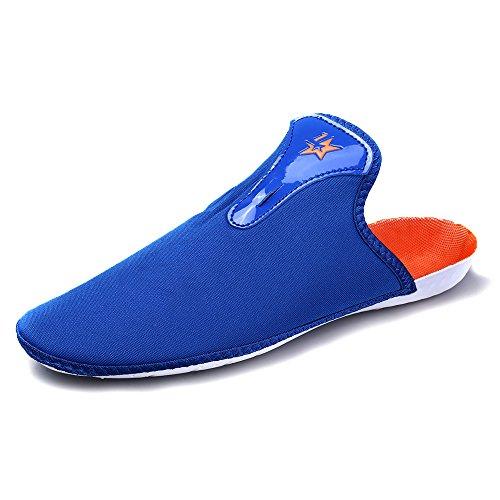 Aleader Performance - Botas de fútbol de Caucho para niño Azul