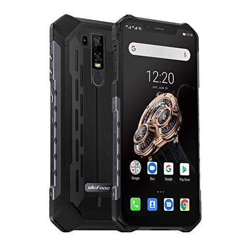 Ulefone Armor 6S (2019) Outdoor Handy mit Qi fähig, 6.2 Zoll FHD+ Display, 6GB RAM + 128GB ROM Helio P70 Android 9.0…