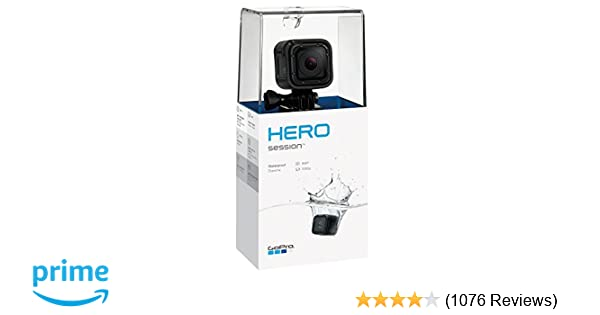 Amazon Com Gopro Hero Session Waterproof Digital Action Camera Camera Photo