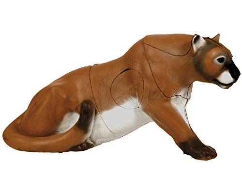 (Delta McKenzie 3D Mountain Lion Archery Target, Brown)