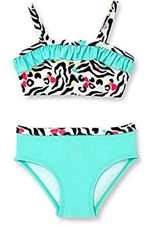 nueva llegada 99720 2ad67 OP Baby Girl Zookeeper traje de baño, Multicolor: Amazon.com ...