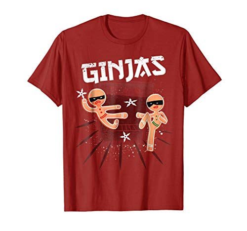 Ginja Ninja Gingerbread Cookie Christmas Pajamas Costume -