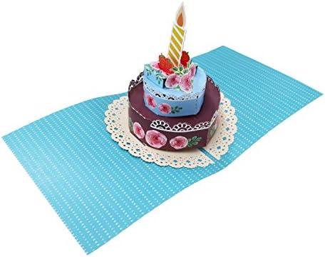 小西印刷所 POPUPカード ケーキ003 PAPC003