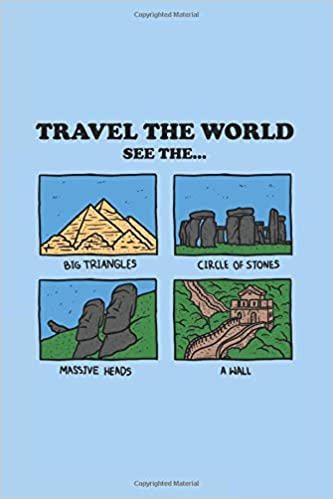 Amazon com: Travel The World: Notebook & Journal - Funny