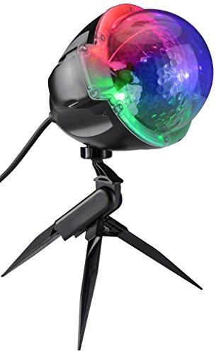 Gemmy Lightshow SmartLights Projection-SnowFlurry Stake Light, 61 Programs