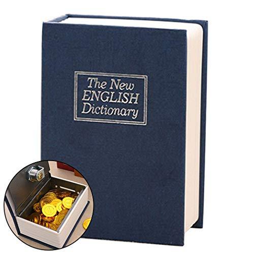 (B bangcool Coin Bank Creative Lock Mini Book Shape Piggy Bank Coin Saving Bank)
