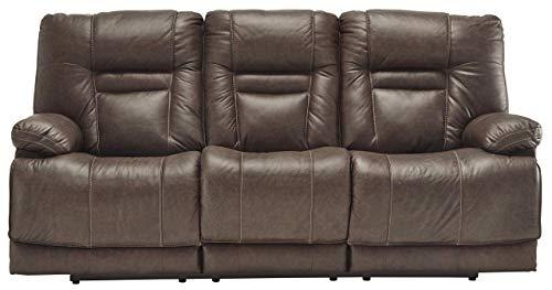 Signature Design by Ashley U5460315 Wurstrow Power Reclining Sofa, 85