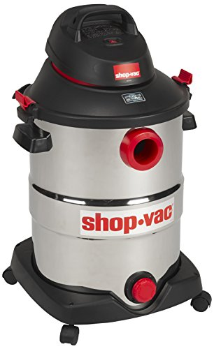 (Shop-Vac 5989500 12 gallon 5.5 Peak HP Stainless Wet Dry Vacuum,)