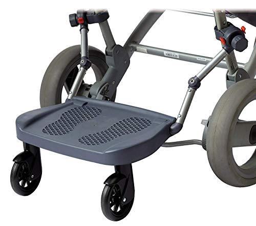 EZ Step Universal Mount Ride-On Stroller Board Toddler Bump-Free Anti-Slip Buggy Stand