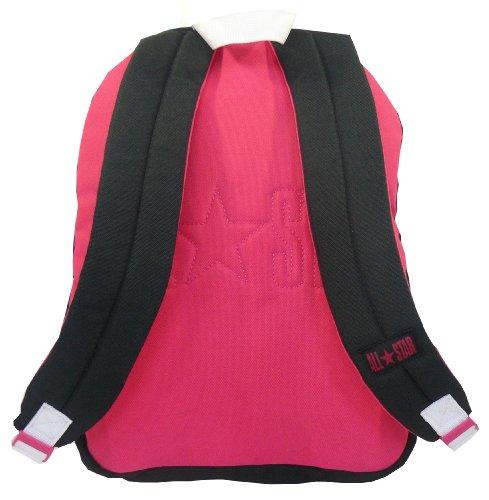 49841d2460 Converse Kids Backpack - Jet Black   Pink - Converse Backpack - Buy ...