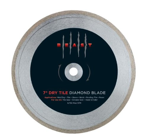 Lackmond 7BETLD 7-Inch Dry Tile Blade by Lackmond