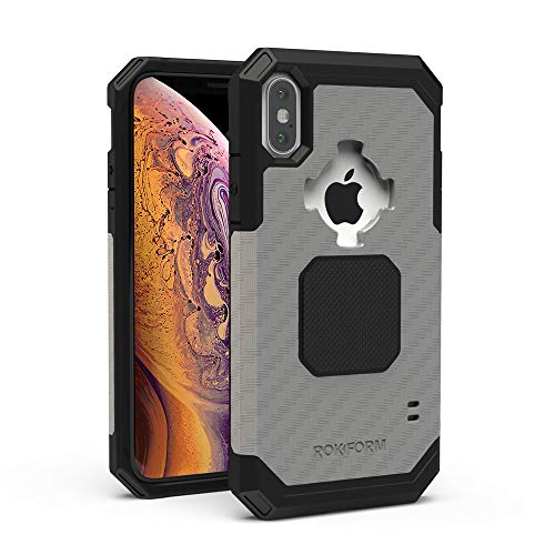 Rokform Rugged [iPhone XS MAX] Military Grade Magnetic Protective Case with Twist Lock - Gun Metal