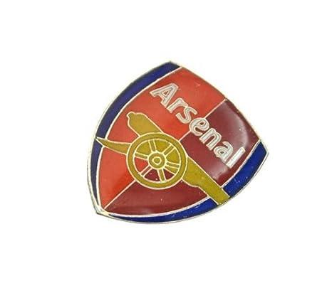 Pin Anstecker mit Fu/ßballmanschafts-Wappen offizieller Fu/ßball-Fan-Artikel verschiedene Mannschaften verf/ügbar In offizieller Verpackung