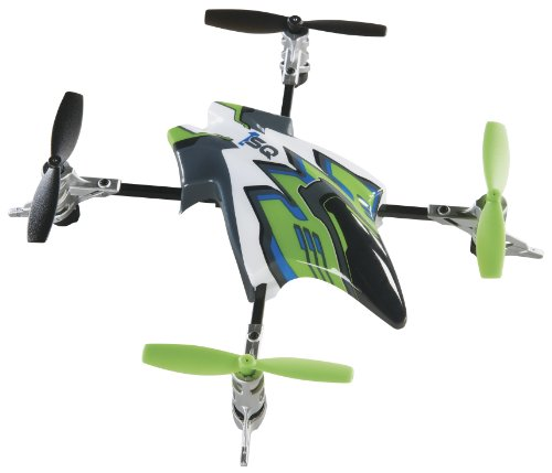 Rc Heli Canopies - Heli-Max Canopy Set with 4 Rotor Blades, Green