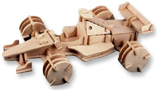 特別価格 3-D Gift by your Wooden Puzzle - Racing Car -Affordable Gift for your Little One! Item #DCHI-WPZ-P081 by All4LessShop B004QDPM1O, BUFFALO BOBS 公式通販:165dc94f --- quiltersinfo.yarnslave.com
