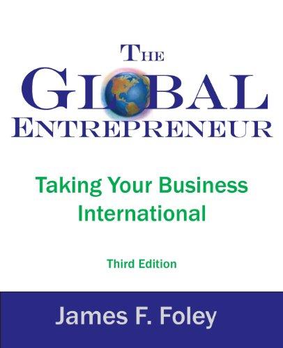 The Global Entrepreneur 3rd Edition